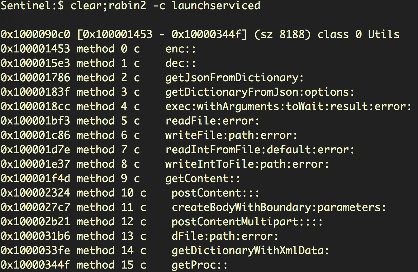 Another screenshot image of the launchserviced code