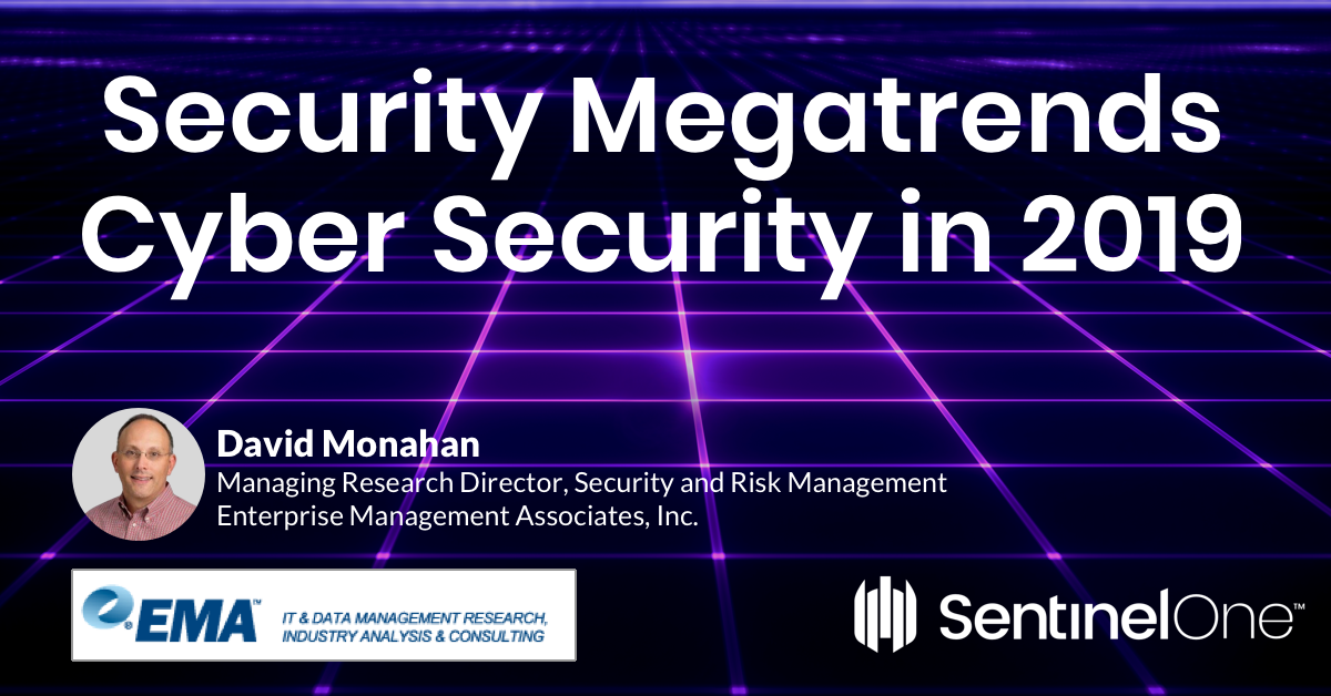 A cover image of Security Megatrends | Latest Cybersecurity News in 2019