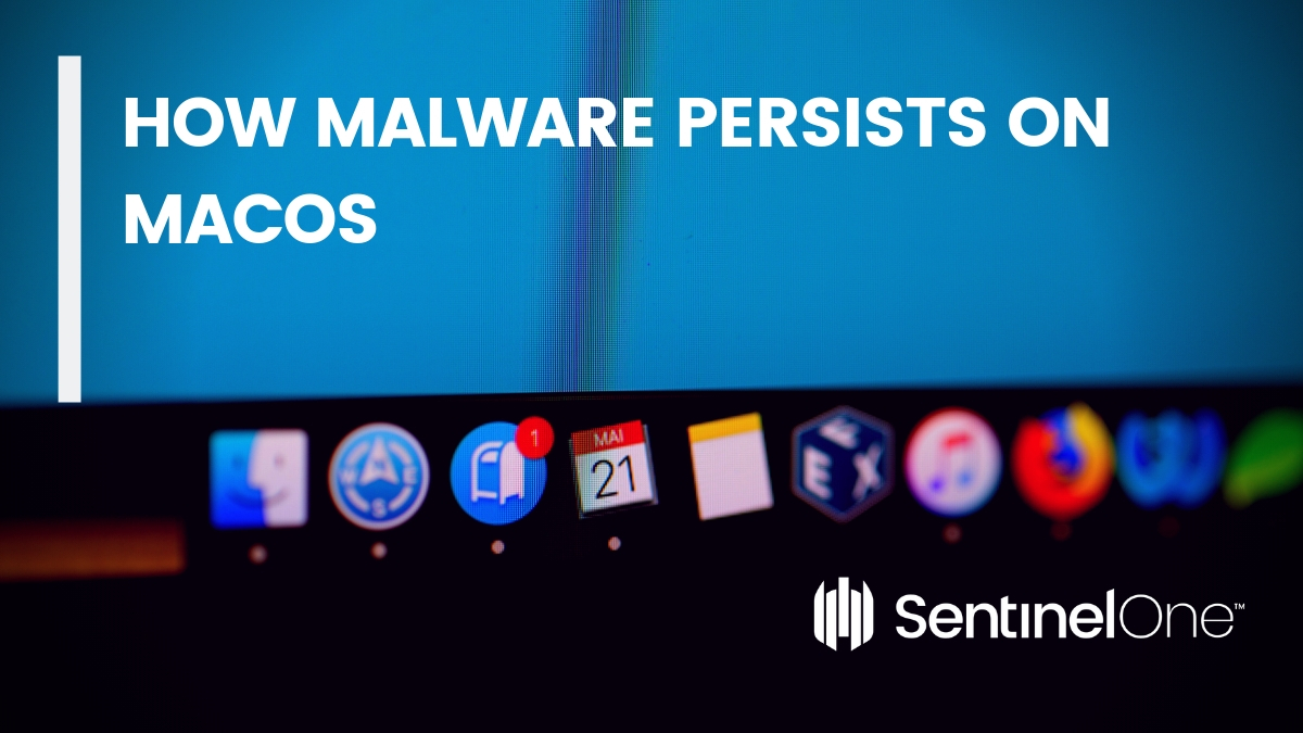 image of how malware persists on macOS