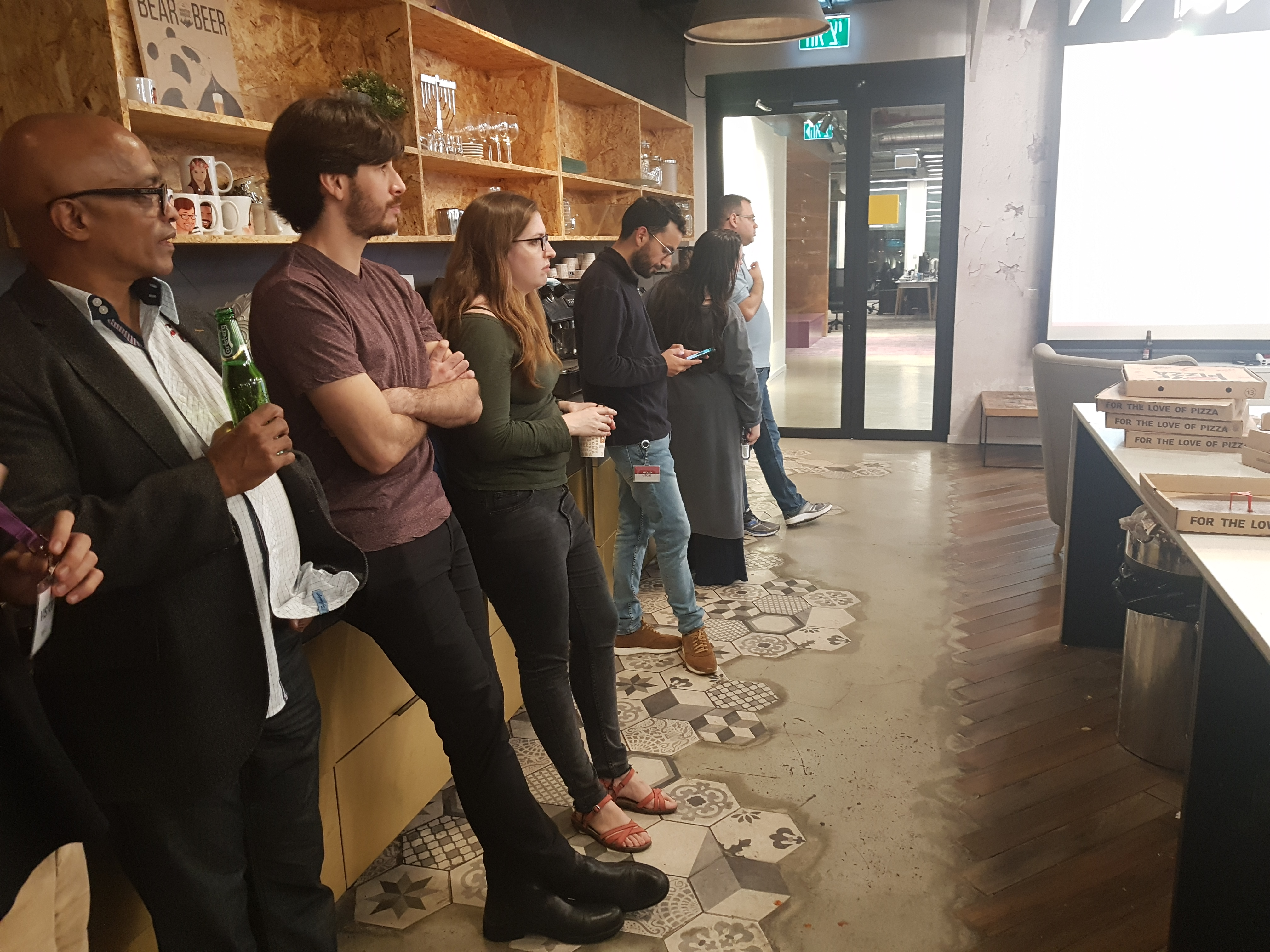 image of Les Correia at sentinel one meetup