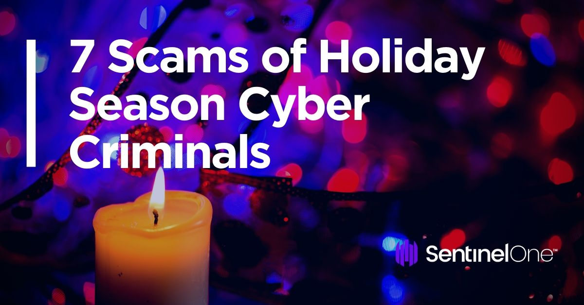 image of 7 scams cyber criminals