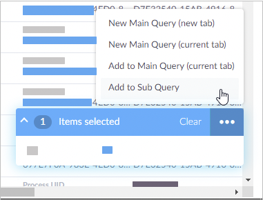 image of new query