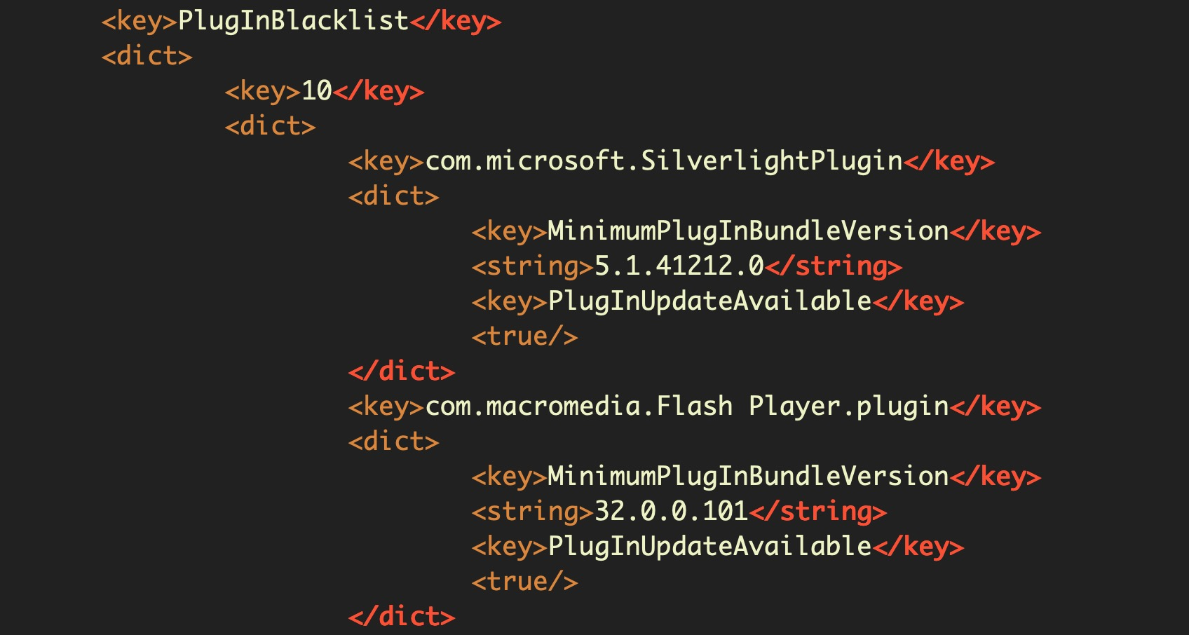 image of plug-in blacklist