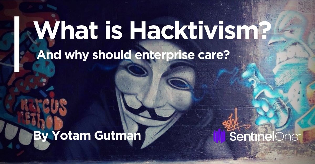 image of what is hacktivism