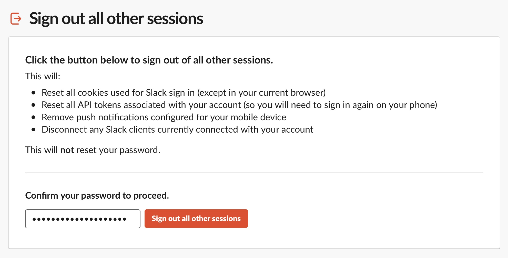 image of how to sign out of all Slack sessions