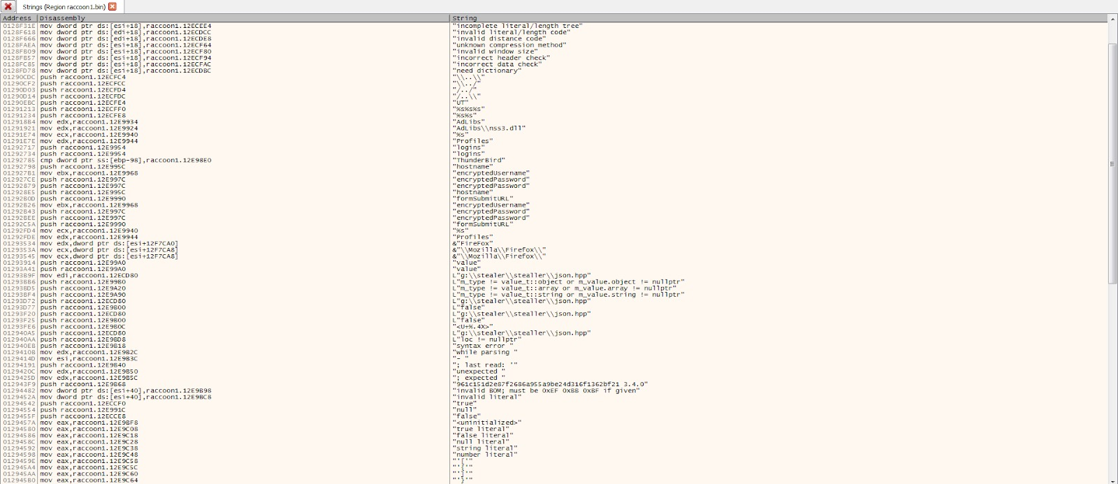 image of Racoon info stealer 2
